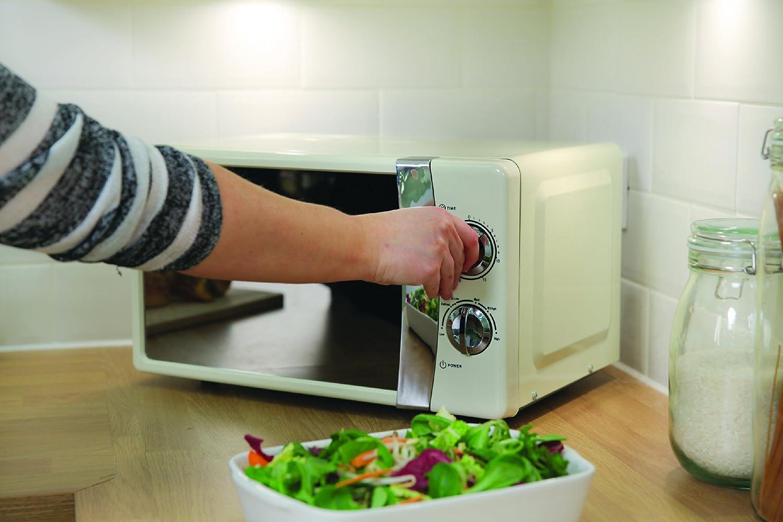 Russell Hobbs RHMM701B Manual Microwave and 2-Piece Sistema Microwave Cooking Set