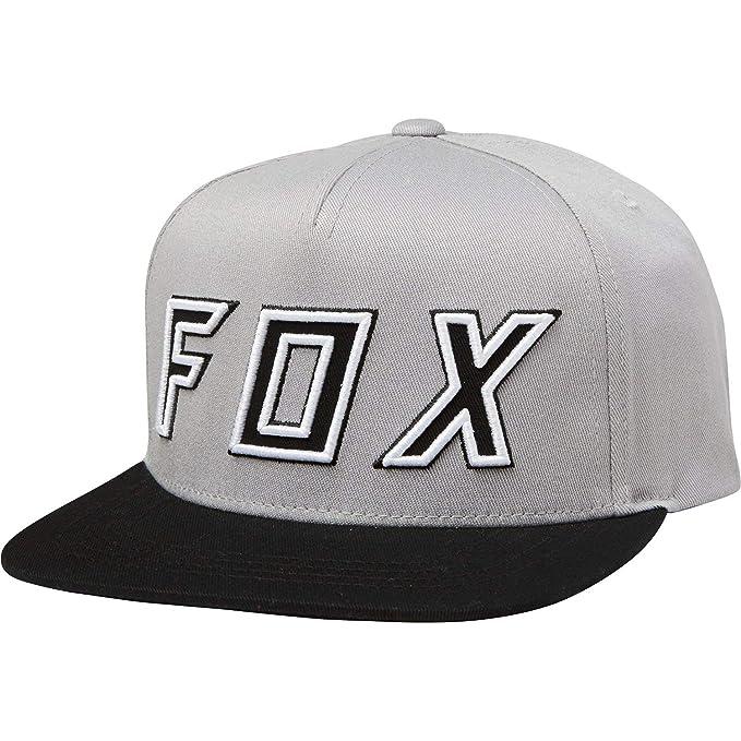 Fox Racing - Gorra de béisbol - para Hombre Gris Gris/Negro Taille Unique: Amazon.es: Ropa y accesorios