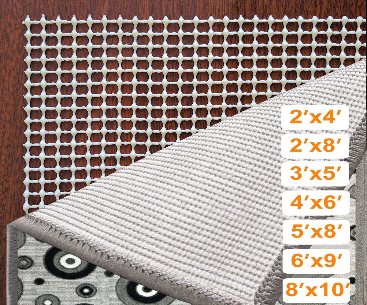 StepBasic Rug Pads Non-Slip Padding for Area Rugs Non Skid Pad Floor Protector (5x8-Feet)