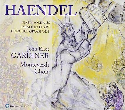 Dixit Dominus-Israel In Egypt : John Eliot Gardiner: Amazon.es: Música