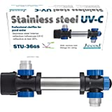 Jecod/Jebao STU36 Stainless Steel 36W UV Sterilizer Up to 18,000 L Pond Clarifier