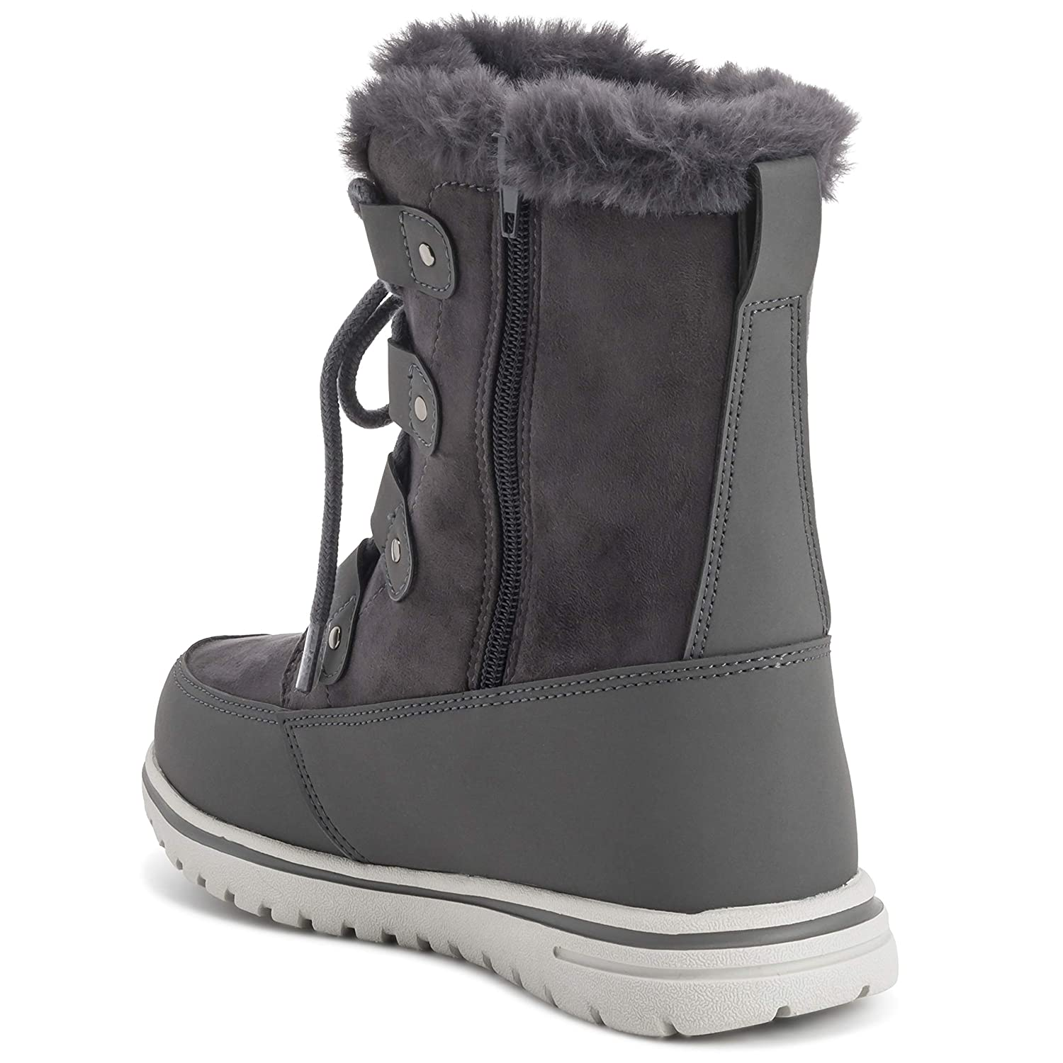 154c5048e Amazon.com | Polar Womens Waterproof Durable Snow Winter Hiking Fleece  Ankle Boots | Ankle & Bootie