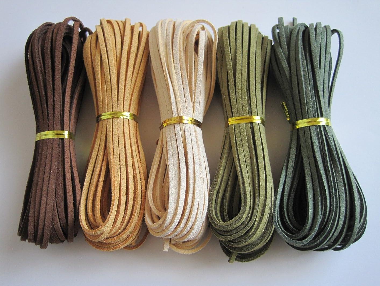 匿名マイクロチーズレザークラフト 糸 260m 太さ 1mm 糸引き ロウ 蝋引き 手縫い 紐 ワックスコード (オフホワイト)