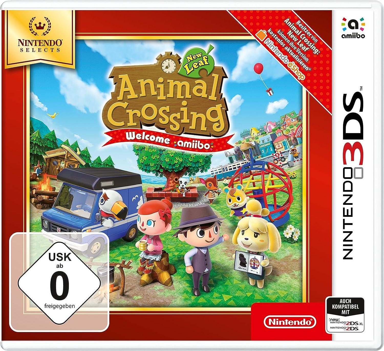 Animal Crossing: New Leaf - Welcome amiibo - Nintendo Selects ...