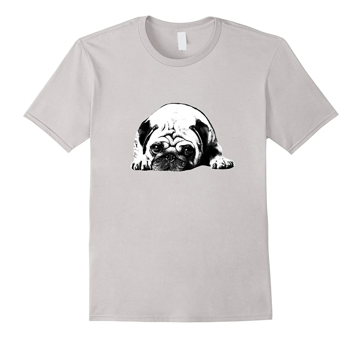 2017 Cute Lovely Dog Pug T shirt-TH