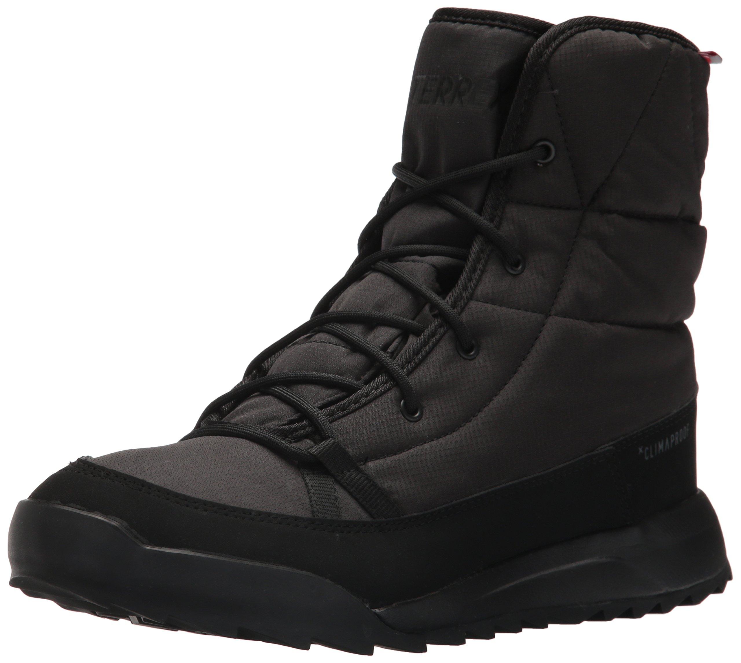 adidas Outdoor Women's Terrex Choleah Padded CP Walking-Shoes, Black/Chalk White/Grey Five, 7 M US