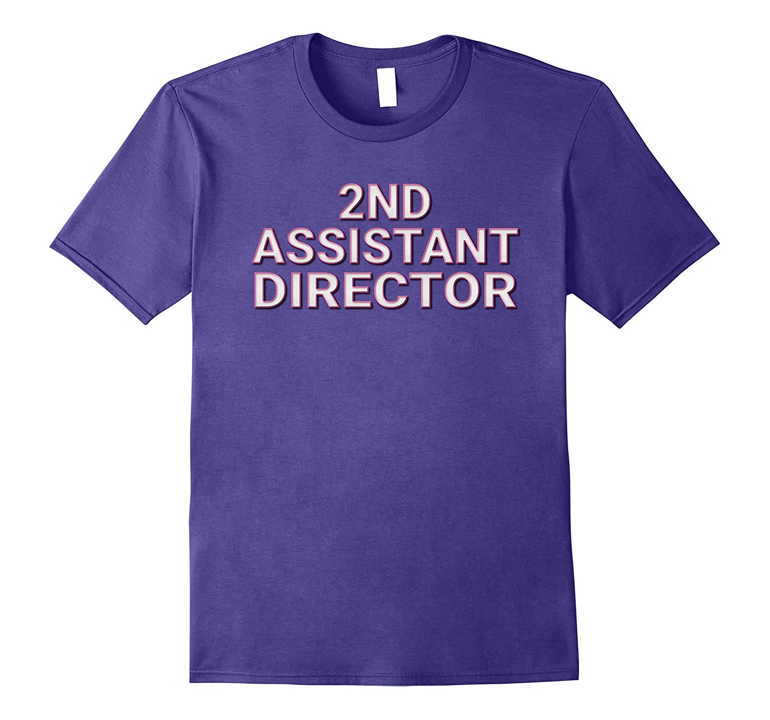 2nd Assistant Director Matching Film Crew TV Set T Shirts-PL