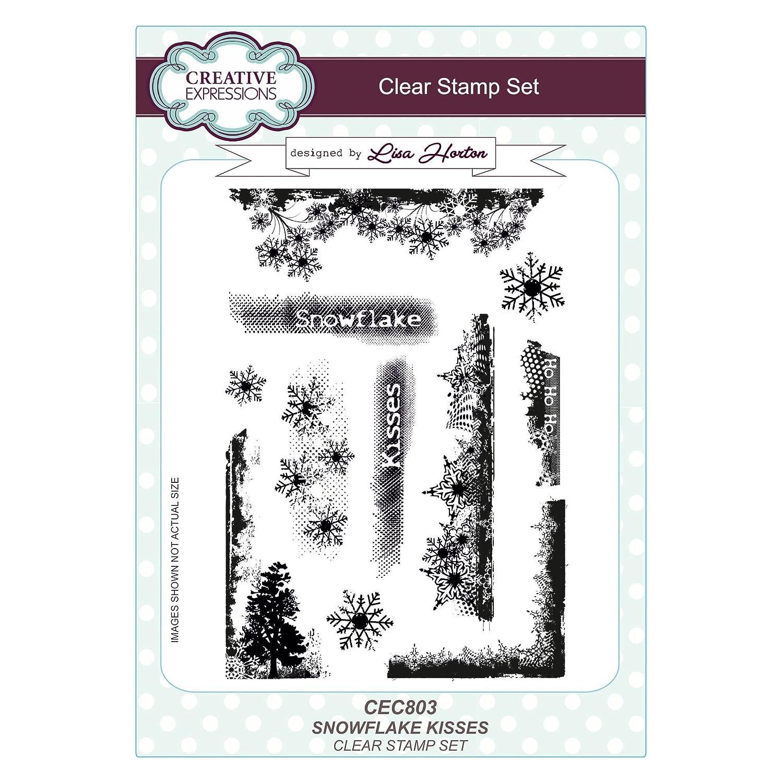 Creative Juego Expressions CEC803 - Juego Creative de Sellos de polímero, Transparente ace0d0