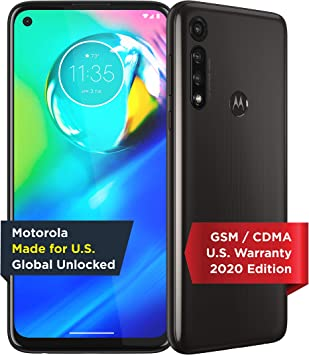 Moto G Power | Unlocked | Made for US by Motorola | 4/64GB | 16MP Camera | 2020