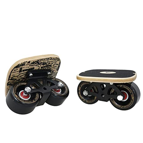 c4e6ec28c Goldway Drift Skate Plates with Pu Wheels ABEC-7 Bearings (Simple Maple)   Amazon.ca  Sports   Outdoors