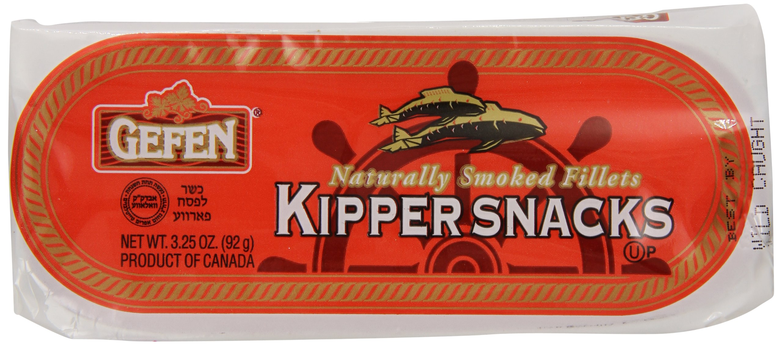 Gefen All Natural Kipper Snacks, 3.25 Ounce (Pack of 24)