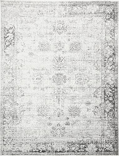 Unique Loom Sofia Traditional Area Rug, 9 0 x 12 0, Gray