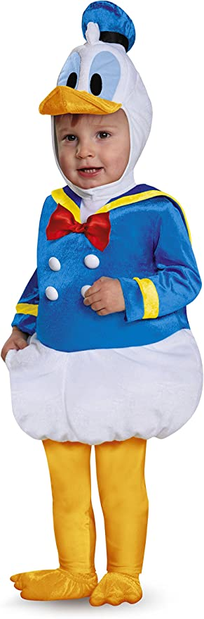 Disguise Baby Boys Donald Duck Prestige Infant Costume