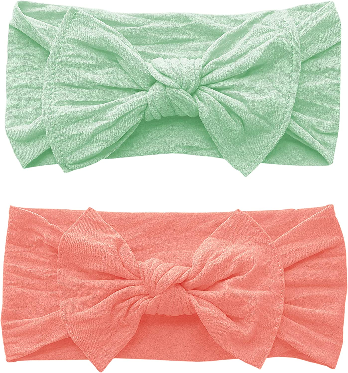 Baby Knot Headband Adjustable Waistband and Headband Baby Girl Outfit Baby Girl Clothes 100/% Organic Cotton Deco Mint Baby Bloomers