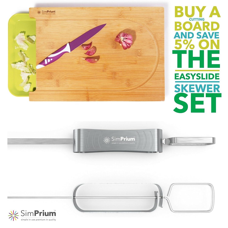 Amazon.com: SimPrium - charola de cortar premium de ...