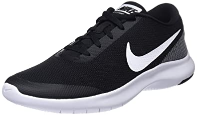 NIKE Men's Flex Experience RN 7 Running Shoe Black/White 7.5