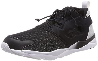 b873f82c06a47 Reebok Classic Furylite Sheer Chaussures Sneakers Mode Femme Noir Classic T  36