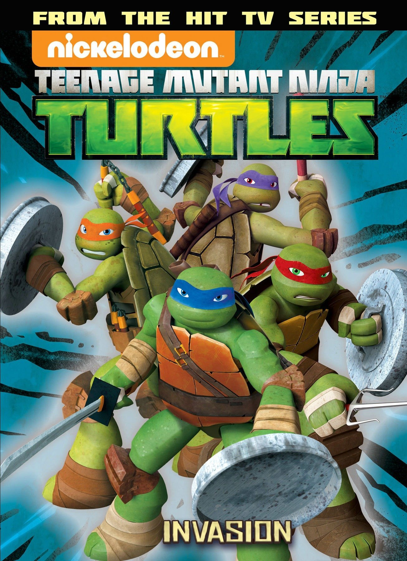 Teenage Mutant Ninja Turtles Animated Volume 7: The Invasion ...