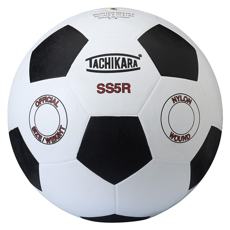 Tachikara ss5r de Goma balón de fútbol (tamaño 5): Amazon.es ...