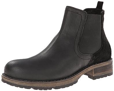 Amazon.com | Steve Madden Men\'s Stills Chelsea Boot, Black, 11 M ...