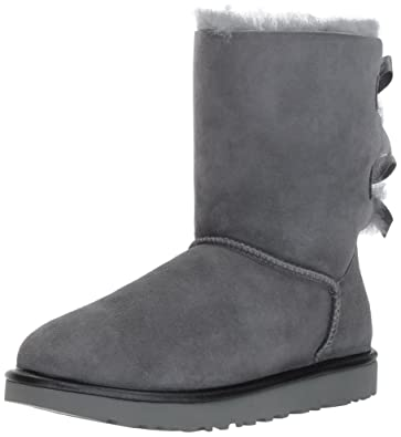 UGG Women's Bailey Bow II Metallic Winter Boot,Geyser,5 ...