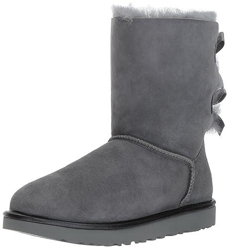 928cb79adc4a0 UGG Australia Bailey Bow II Metallic Mujer Botas Gris  Amazon.es  Zapatos y  complementos