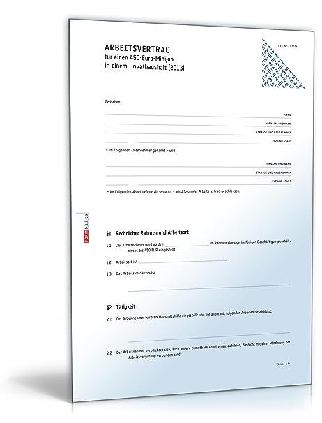 Vorlagen Paket Minijob 2017 Zip Ordner Download Amazonde Software