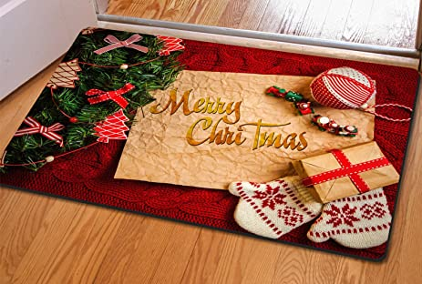 Genial Hever 3D Trap Printed Carpet For Living Room,Bedroom Floor Mats Kitchen Rugs  Xmas Doormat