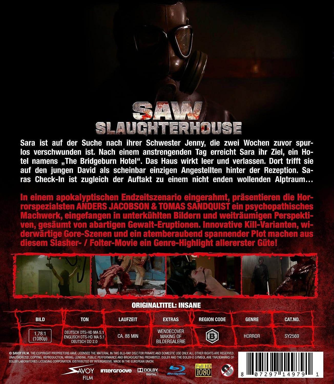 Saw Slaughterhouse [Alemania] [Blu-ray]: Amazon.es: Johanna Leamo, Alida Morberg, Lars Bethke, Anton Jacobsson, David Lenneman, Lennart Ström, ...