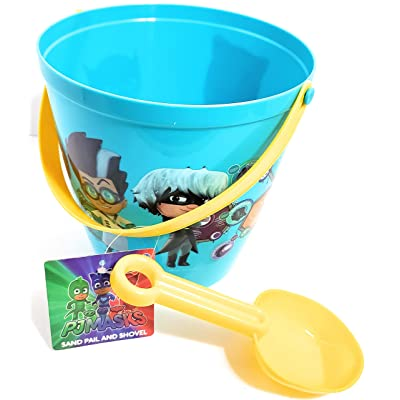 What Kids Want PJ Masks Sand Pail and Shovel: Toys & Games