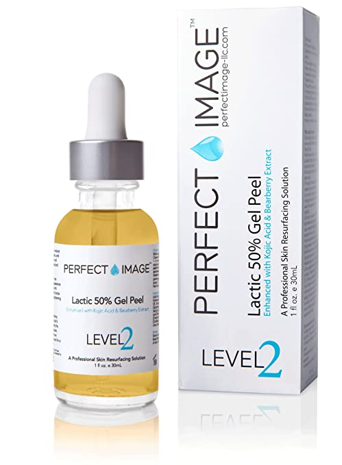 Lactic Acid 50% Gel Peel 1 oz - Enhanced with Kojic Acid & Bearberry Extract