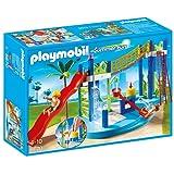 Playmobil 6670 - Summer Fun Parcogioco acquatico con scivoli e doccia