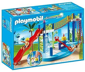 PLAYMOBIL - Zona de Juegos acuática (66700)