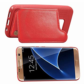 Funda Carcasa Compatible Con Samsung Galaxy S7 Edge Cuero ...