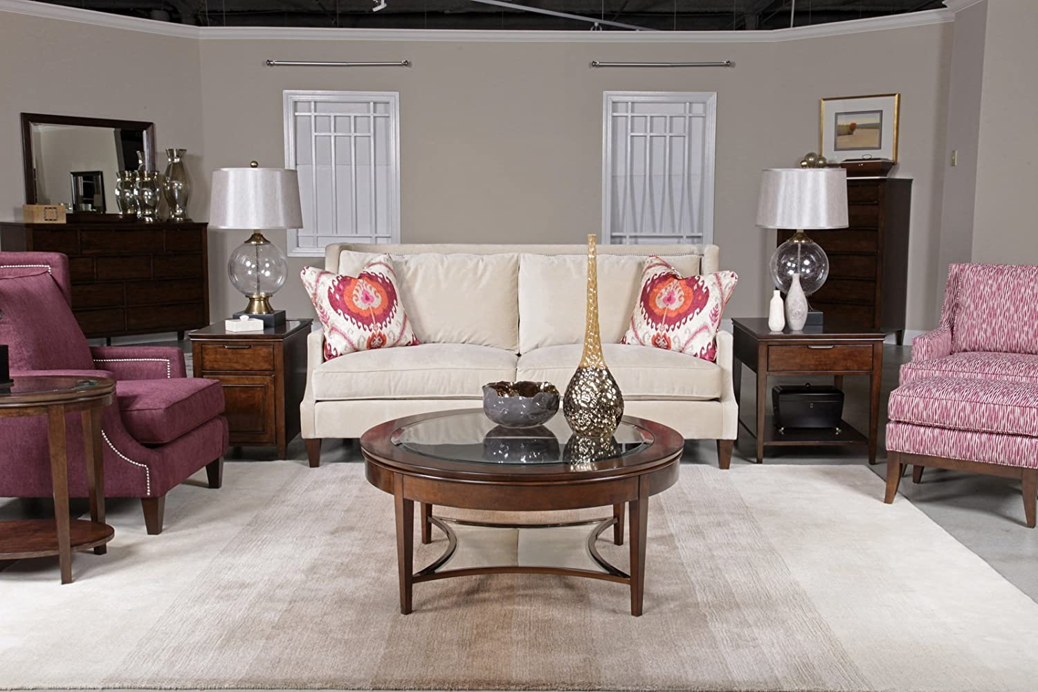 Amazon Com Kincaid Elise Coffee Table Set With Cocktail Table End Table And Other Items Furniture Decor