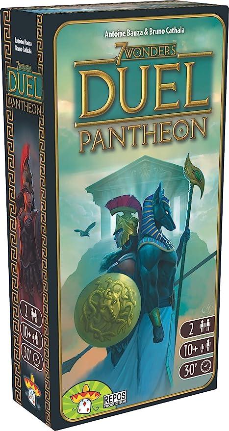 7 Wonders Duel jeu de carte-Panthéon Expansion