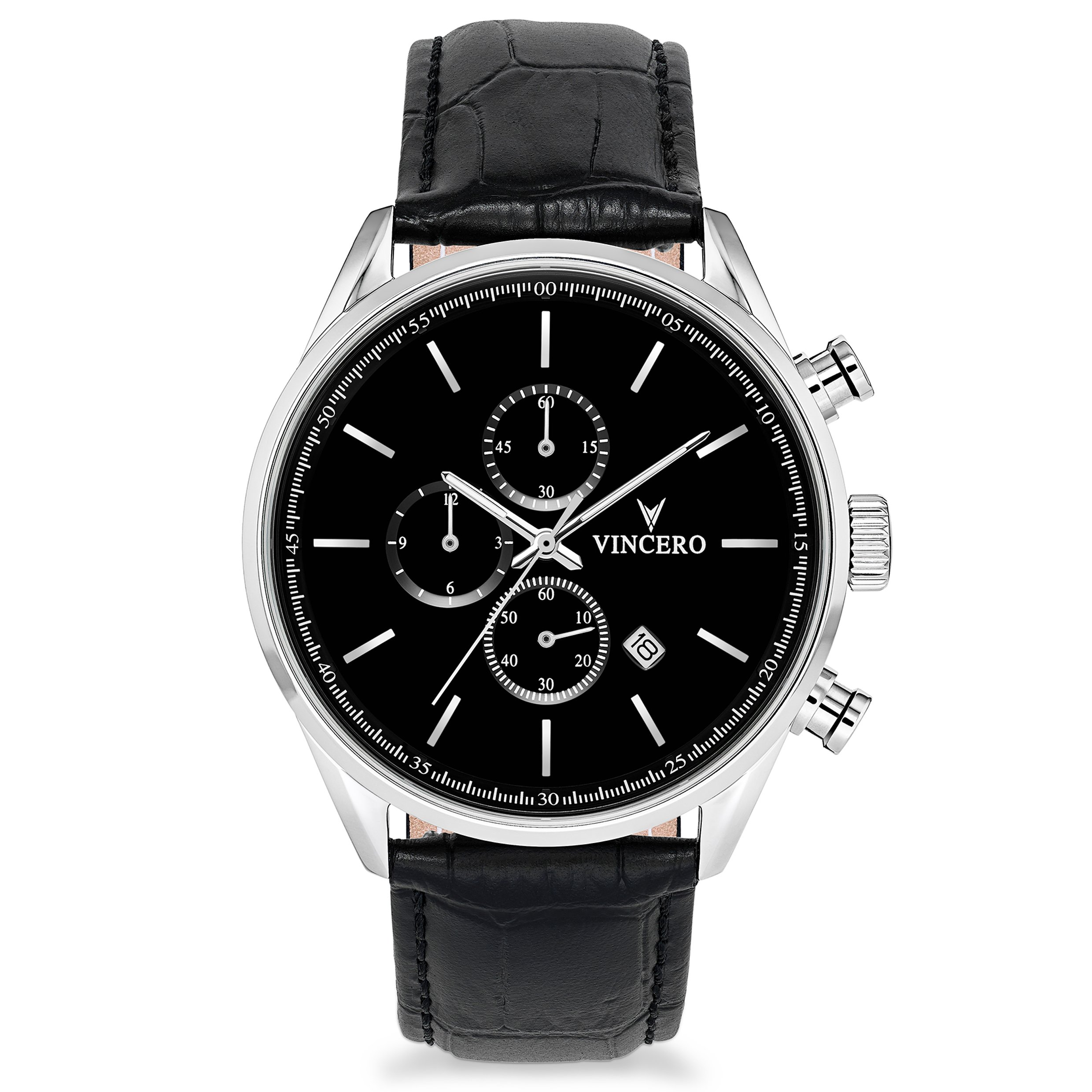 watches black chrono bl watch products leather all cr