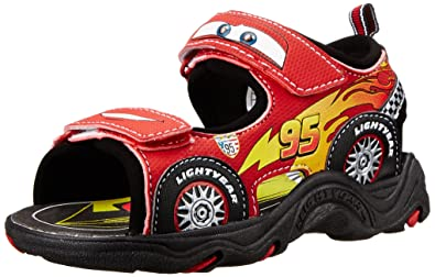 d69be6300f64 Disney Cars Lightning McQueen Sandal