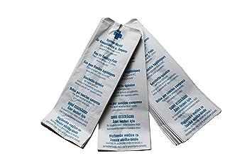 1000 Bolsa higienica Bolsas de higiene para Toallas sanitarias y Tampones 12 + 5 x 28 cm: Amazon.es: Salud y cuidado personal