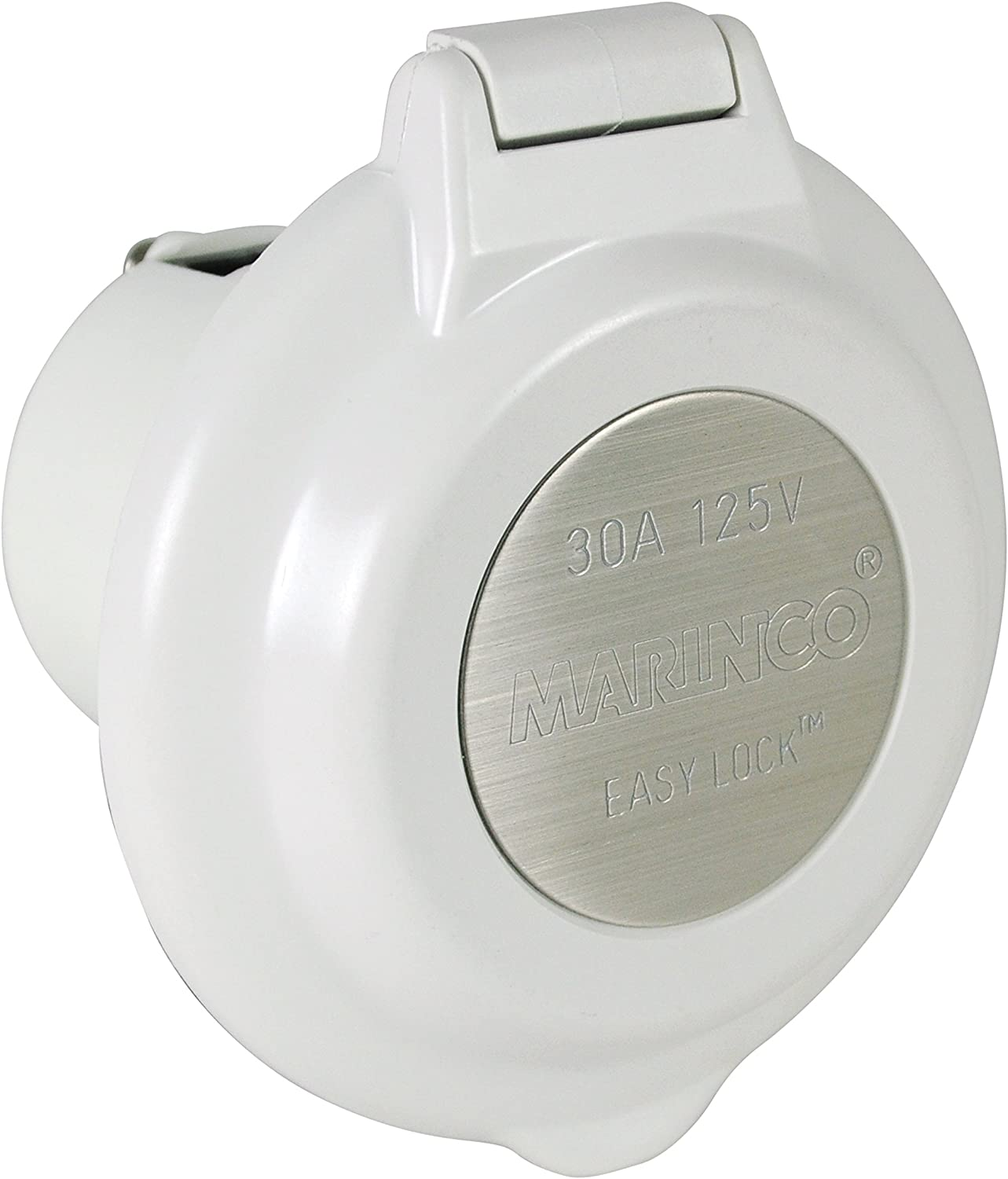 ParkPower 15A, 20A, 30A & 50A Power Inlets, Stainless Steel, 30 Amp, 125V: Sports & Outdoors