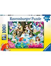 Ravensburger Magical Fairy Night Puzzle 100pc,Children's Puzzles