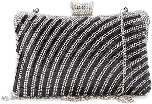 NEW GREY SILVER FAUX SUEDE GLITTER EVENING DAY CLUTCH BAG WEDDING PROM PARTY