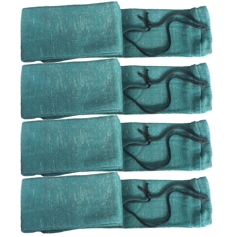 GUGULUZA Guguguuluza Lot de 4 Paires de Chaussettes en Tricot en Silicone trait/é 132 cm
