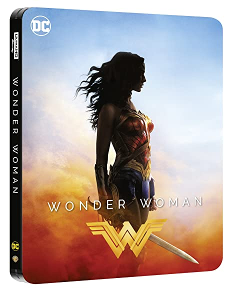 Wonder Woman Steelbook (4K Ultra HD) [Blu-ray]