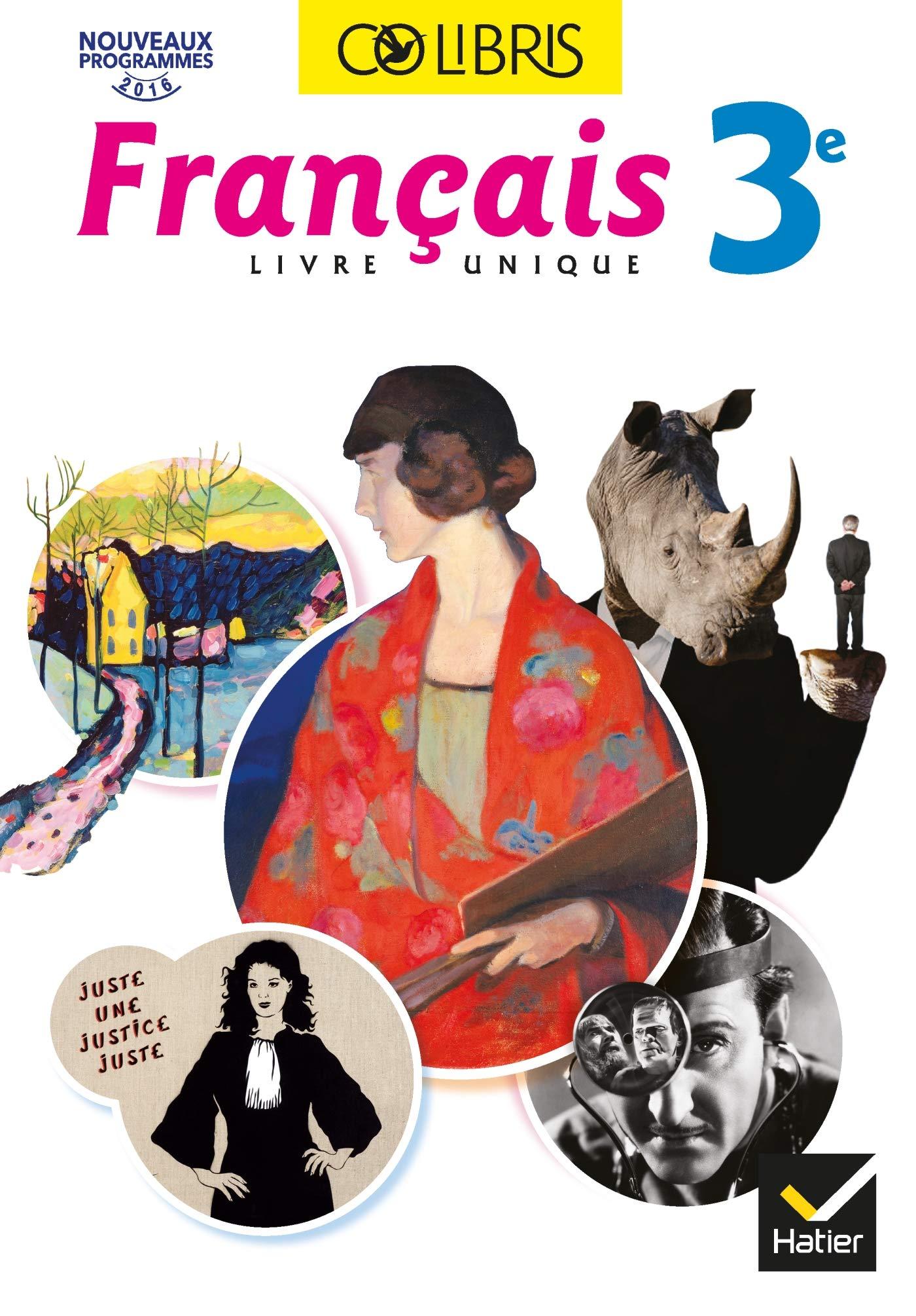 Amazon Fr Colibris Francais 3e Ed 2017 Livre Eleve
