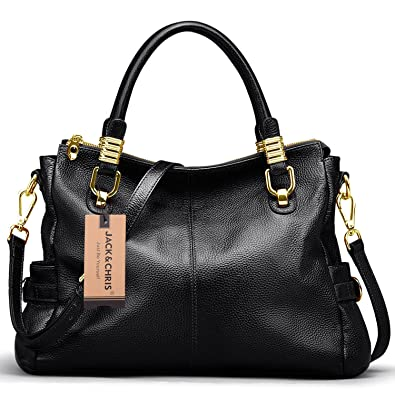 Jack&Chris Ladies Handbags and Purses Tote Bag for Women Leather ...