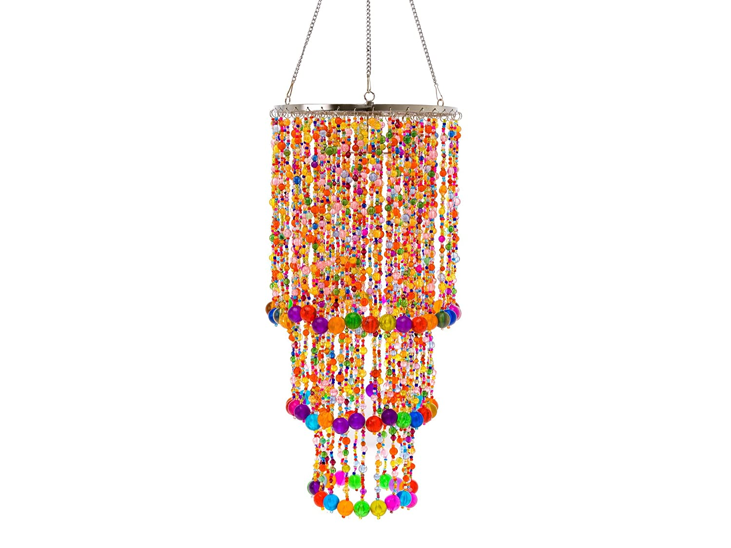 Present Time Wanted Chandelier Gypsy With Mulitcolour Beads Co Uk Kitchen Home