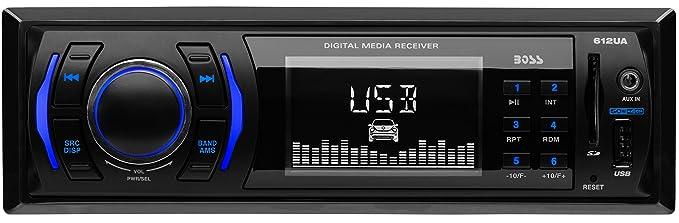 amazon com car stereo boss audio 612ua single din mp3 usb sd am rh amazon com