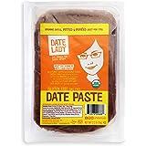 Date Lady Organic Date Paste (2.2 lbs)   1 Ingredient: 100% Organic Dates   Vegan, Paleo, non-GMO, Gluten-Free & Kosher   No