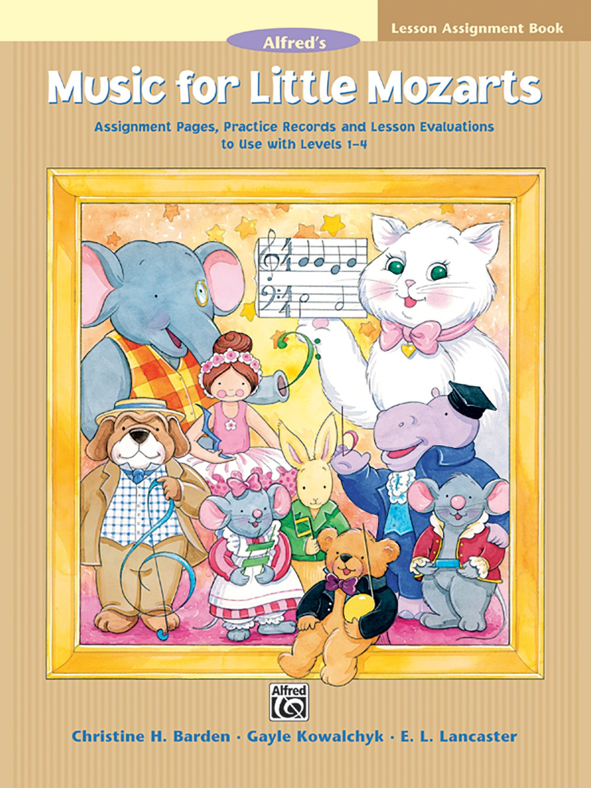 Music for Little Mozarts Lesson Assignment Book: Assignment Pages, Practice Records and Lesson Evaluations to Use with Levels 1--4 ebook
